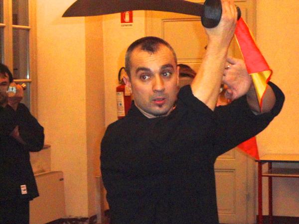 Nicolae Savoiu, maestro di tai chi