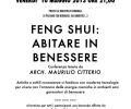 """Conferenza """"Fen Shui: abitare in salute"""" venerdi 10 maggio 2013 ore 21.00, Biblioteca Comunale di Pessano con Bornago, via Umberto I, n.3"""