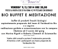 BIO BUFFET E MEDITAZIONE