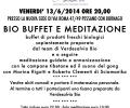 Bio Buffet e Conferenza Dott.ssa BARBARA MERONI
