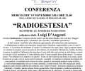 "CONFERENZA ""RADIOESTESIA"""