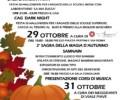 SAMHAIN 2017  (29 OTTOBRE) PESSANO C/B., PIAZZA PERTINI E VIA ROMA